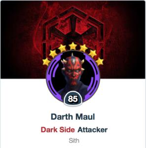 Darth Maul - SWGOH - Mods