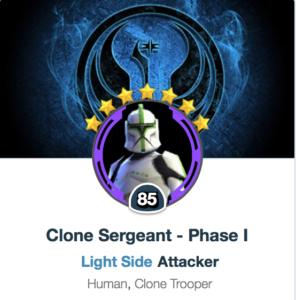 Clone Sergeant Mods - SWGoH