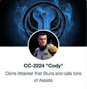 SWGoH modovi - Cody