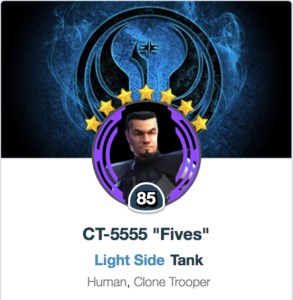 SWGoH - Best Mods for Fives