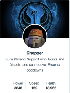 Chopper - SWGoH