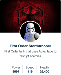 First Order Stormtrooper - SWGoH