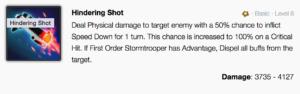 First Order Stormtrooper mods - SWGoH