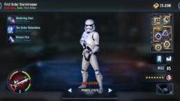 SWGoH - First Order Stormtrooper