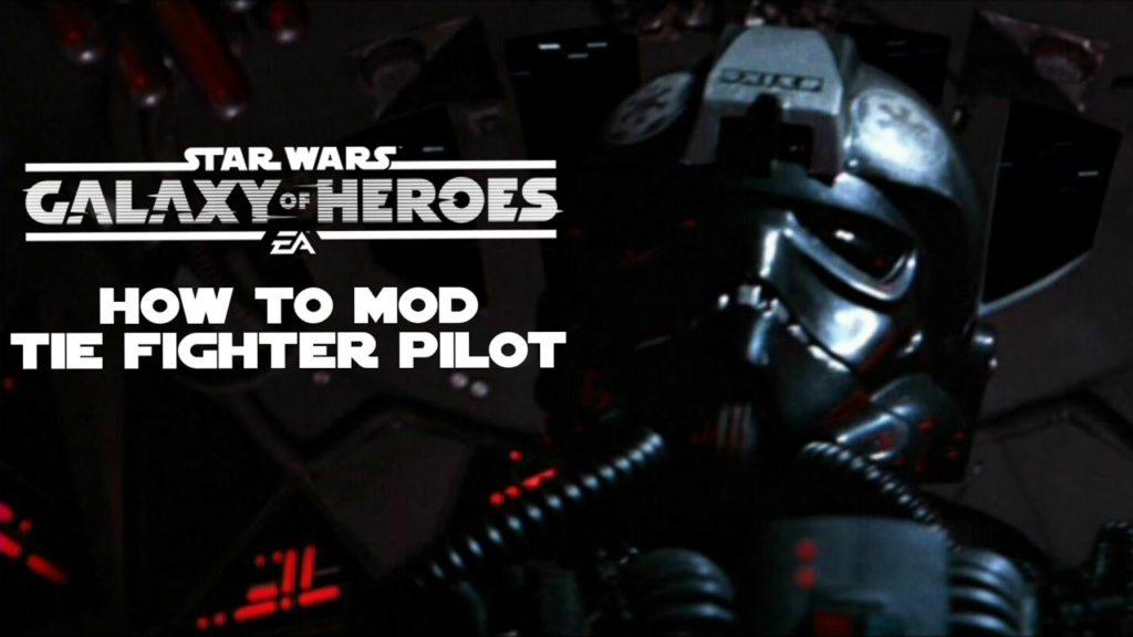 Mods per piloti da combattimento TIE - SWGoH