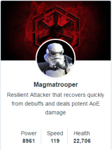 SWGoH Mods for Magmatrooper