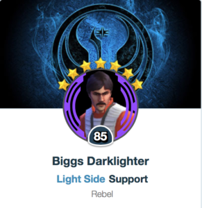 Biggs Darklighter Mods - SWGoH
