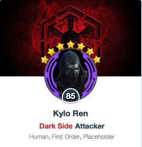 SWGoH Zeta Review: Kylo Ren | Gaming-fans com