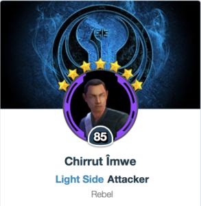 Chirrut Imwe Mods - SWGoH