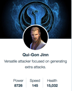 SWGoH Mods for Qui-Gon Jinn