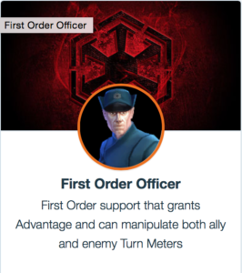 First Order Officer Mods - SWGoH