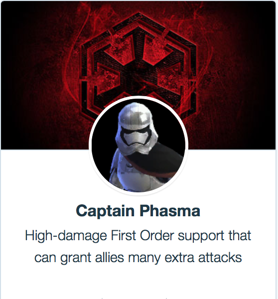 Captain Phasma - SWGoH