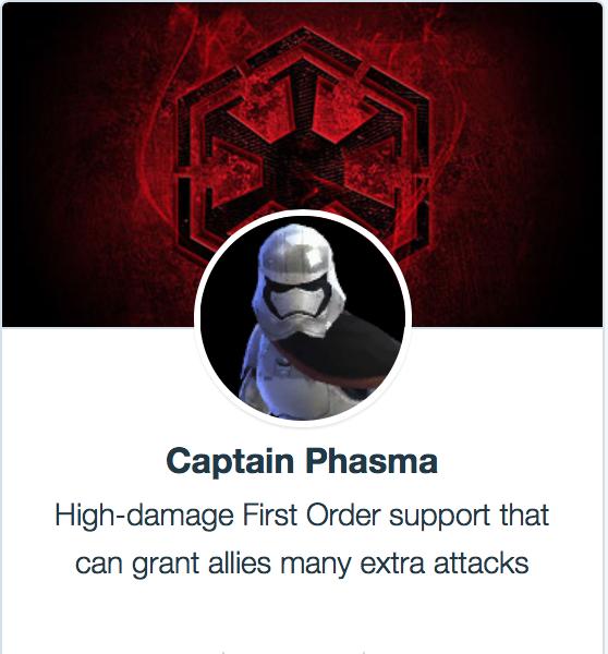 Kapetan Phasma - SWGoH