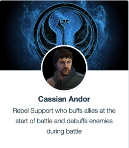 Best Mods for Cassian Andor - SWGoH