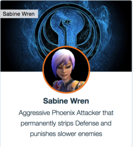 SWGoH: Best Mods for Sabine Wren | Gaming-fans com