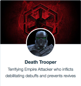 Best Mods for Death Trooper - SWGoH