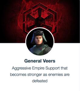 Best Mods for General Veers SWGoH