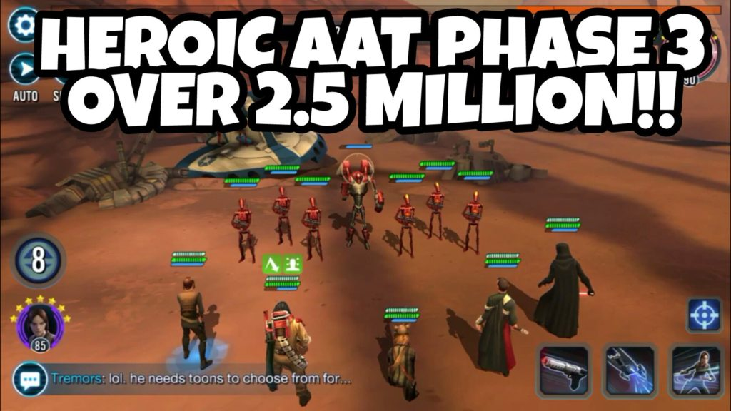 SWGoH: HAAT Phase 3