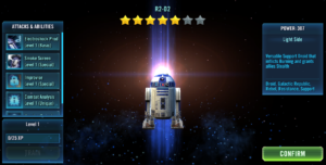 Daring Droid R2-D2 SWGoH Event