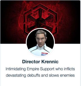 Director Krennic SWGoH mods