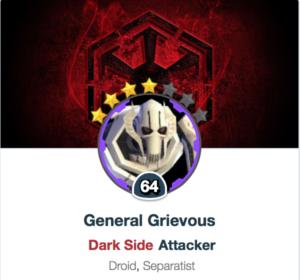 General Grievous rework SWGoH