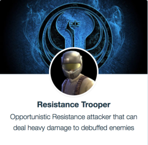 Best Mods Otpornik Trooper SWGoH