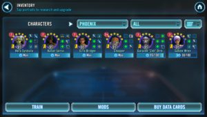 Phoenix Squad for Thrawn event - SWGoH