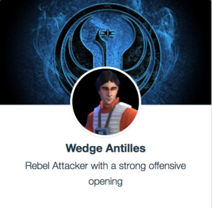 Wedge Antilles Best SWGoH Mods
