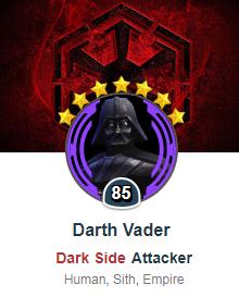 Darth Vader - SWGoH
