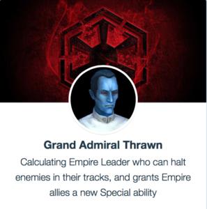 Grand Admiral Thrawn - SWGoH
