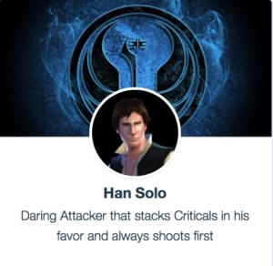 Han Solo SWGoH