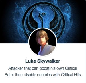SWGoH - Luke Skywalker
