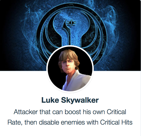 SWGoH - Luke Skywalker