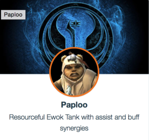 SWGoH: Best Mods for Paploo | Gaming-fans com