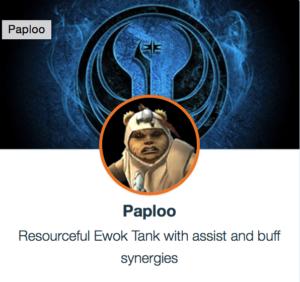 SWGoH- Paploo