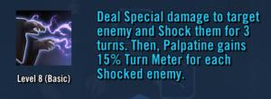Emperor Palpatine Basic Attack