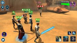 SWGoH - Commander Luke in Arena