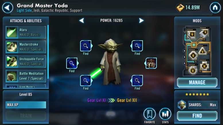 Swgoh Events Calendar.Swgoh Tips For Success For The Grand Master S Training Event To