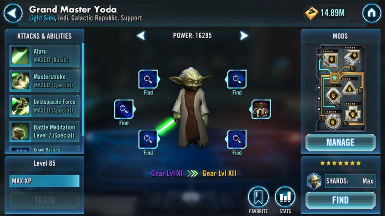 Yoda - SWGoH