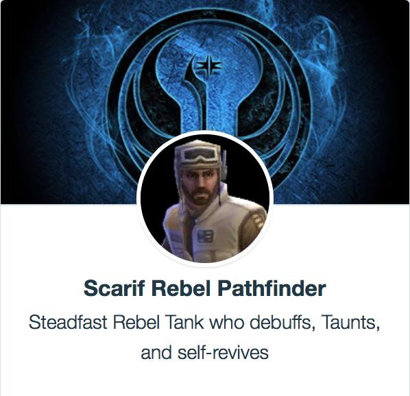 Scarif Rebel Pathfinder - SWGoH