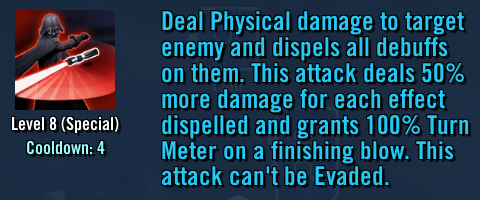 Culling Blade in game description