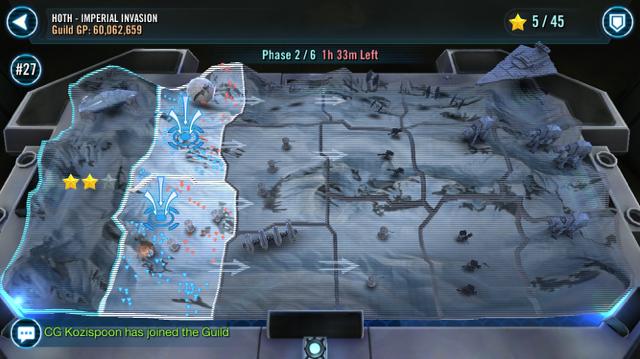 Територія битви - SWGoH