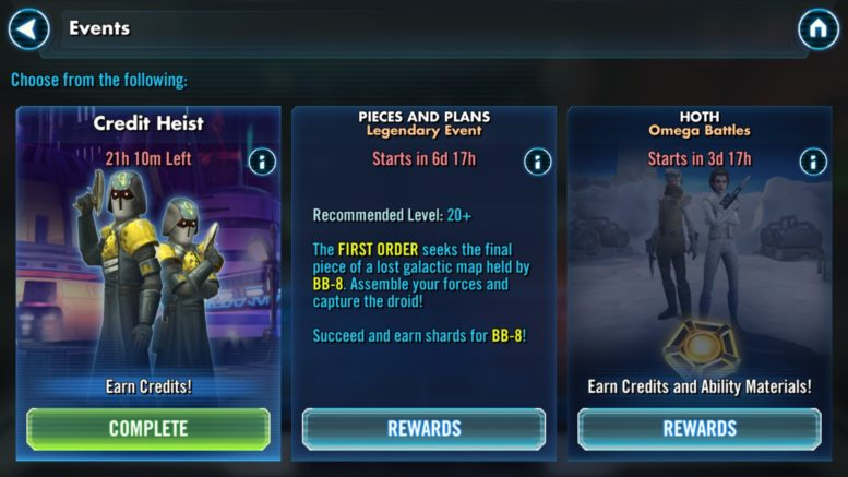 BB-8 Event - SWGoH