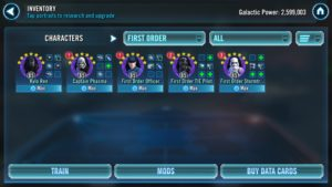 SWGoH - First Order