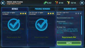 First Order SWGoH - Unlock BB-8