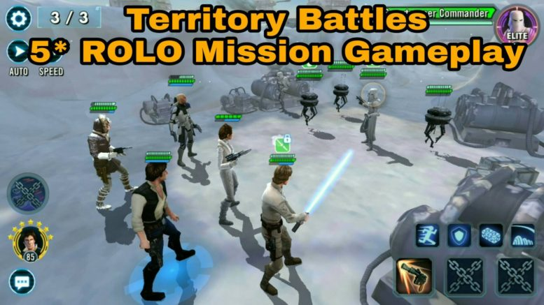 SWGoH - ROLO Special Mission - Territory Battles