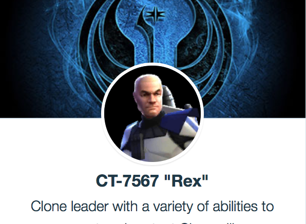 SWGoH Capitão Rex