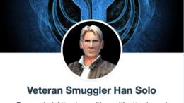Veteran Smuggler Han Solo - SWGoH