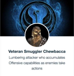 Veteran Smuggler Chewie - SWGoH