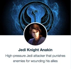 SWGoH - Jedi Knight Anakin